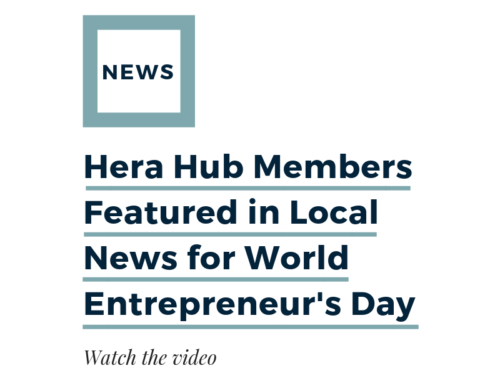 Hera Hub Members Featured in Local News for World Entrepreneur's Day