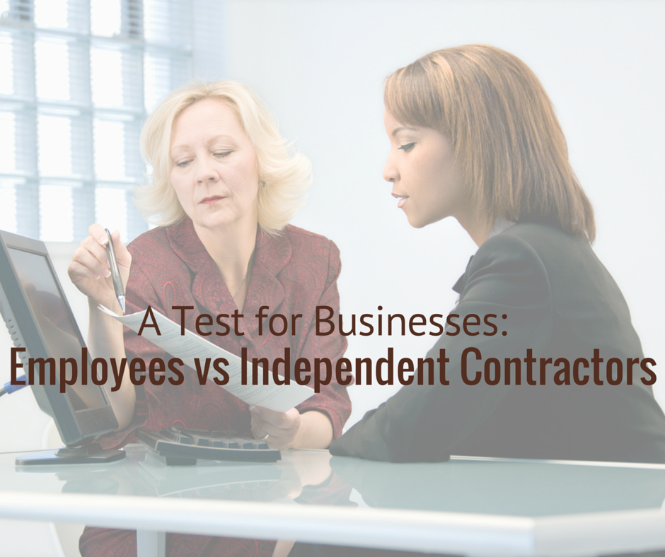 Independent Contractor-Test-for-Business