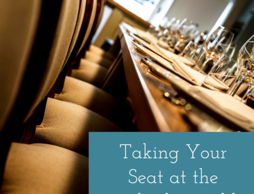 Taking Your Seat At The Leadership Table
