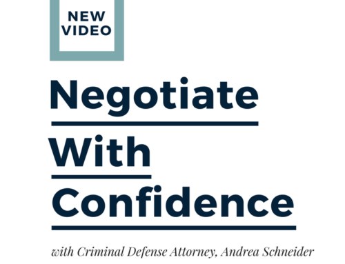 How to Negotiate with Confidence with Andrea Schneider