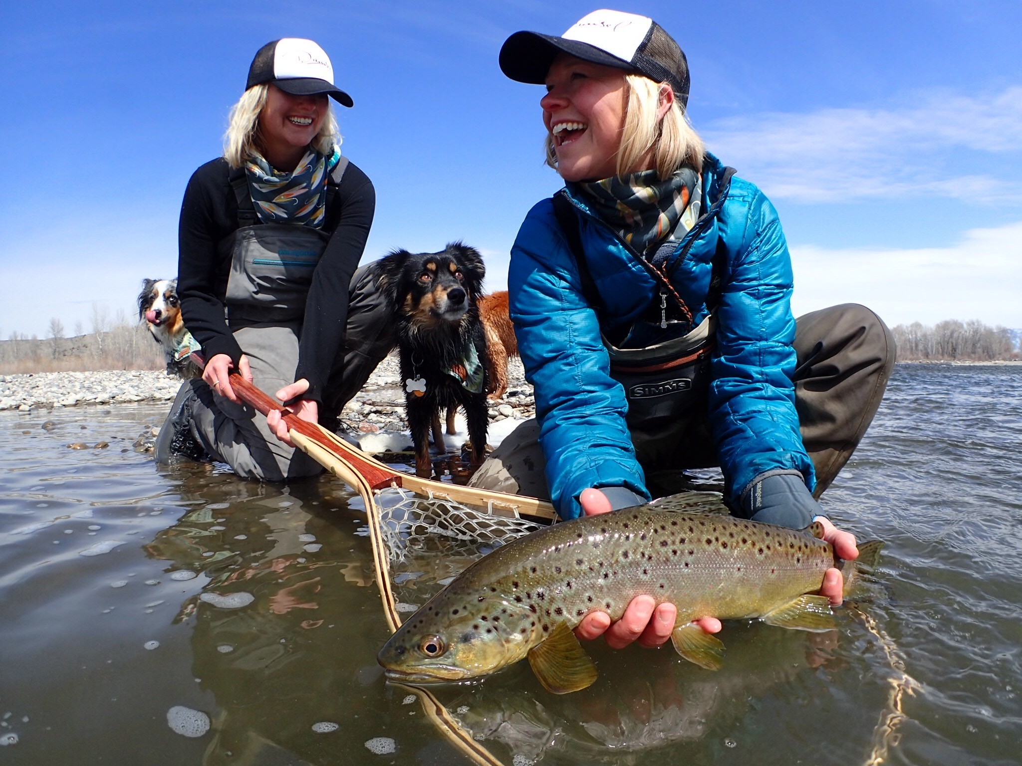 Montana sisters disrupt the fly fishing industry with for Fly fishing girls