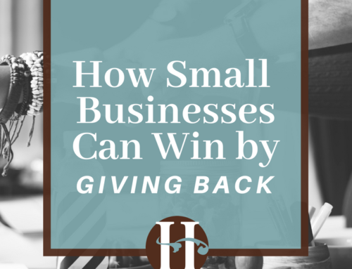 How Small Businesses Can Win by Giving Back