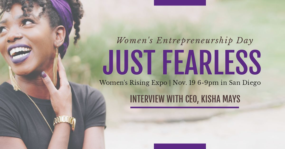 WED - Just Fearless Women's Rising Expo San Diego