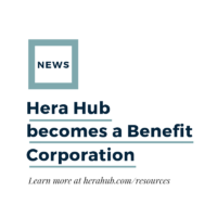 Hera Hub Becomes A Benefit Corporation