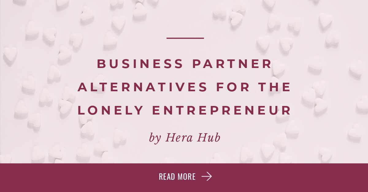 Business Partner Alternatives for the Lonely Entrepreneur