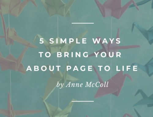 5 Simple Ways to Bring Your About Page to Life