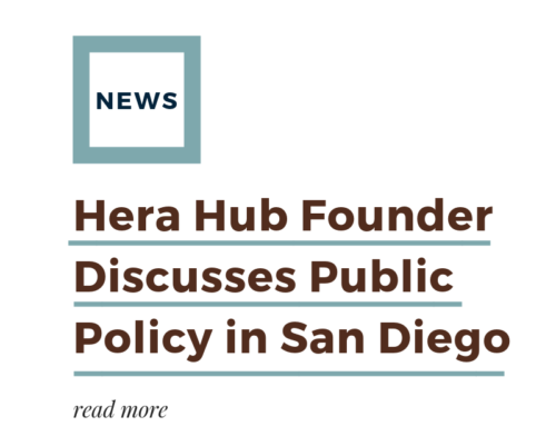Hera Hub Founder Discusses Public Policy in San Diego