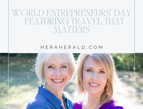 World Entrepreneurs' Day – Featuring Travel That Matters